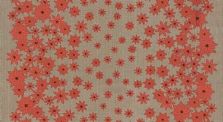 Moda Winters Lane - 2754 - Red Poinsettias on Taupe - 13091-15 100% Cotton Fabric